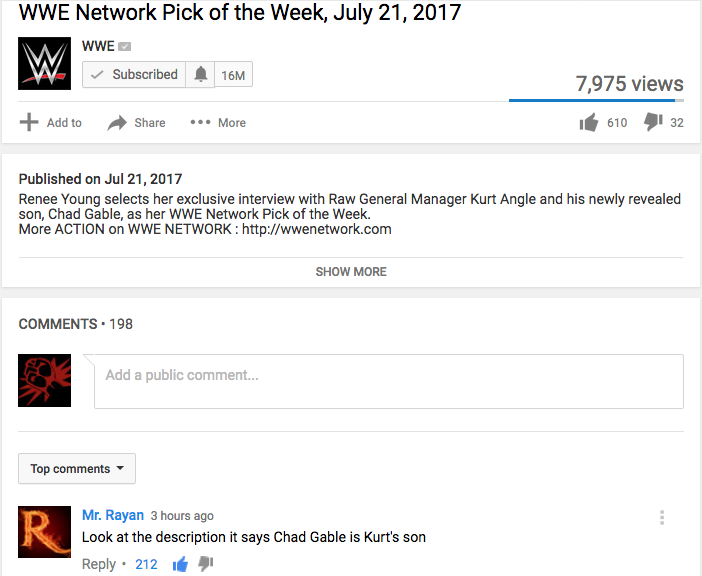 WWE Network Pick July 21, 2017