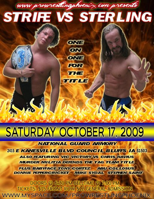 PWP on October 17th