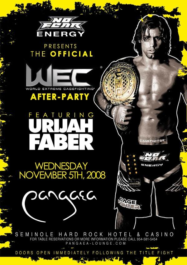 WEC Afterparty Nov. 5th